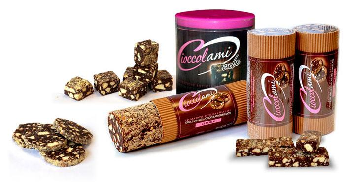 Chocoladesalami: alle producten