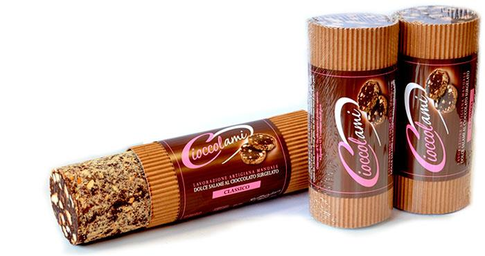 Chocoladesalami halve kg