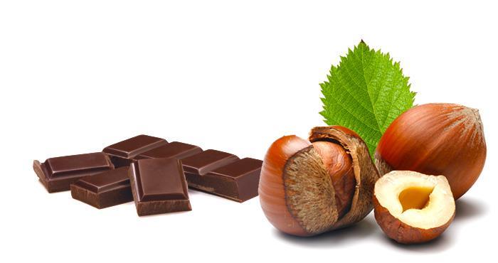 Chocoladesalami met hazelnoten