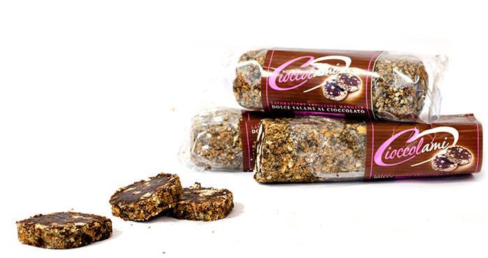 Chocoladesalami van 250gr